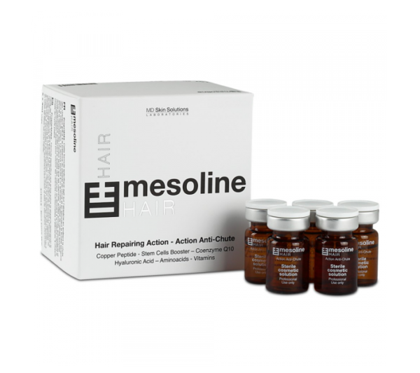 Buy Mesoline Hair 5x5ml vials
